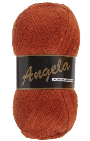 Lammy Yarns Angela 028 roest oranje