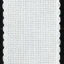 Aida band 5,5 wit (hoogte 5 cm) (per 10 cm)