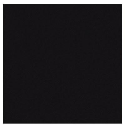 Rits deelbaar 50 cm - metaal zwart