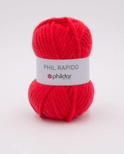 Phildar Rapido Rouge