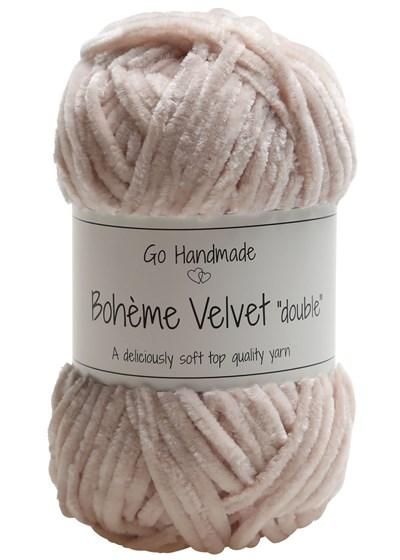 Go handmade Boheme Velvet Double 17629 Sand