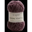 Go handmade Boheme Velvet fine 17680 Dark Lavender