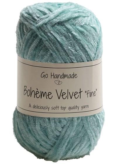 Go handmade Boheme Velvet fine 17679 Mint