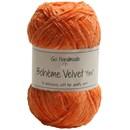 Go handmade Boheme Velvet fine 17618 Warm Orange