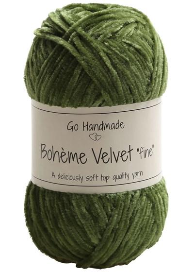 Go handmade Boheme Velvet fine 17617 Lime