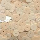 Pailletten 6 mm - creme
