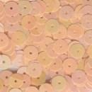 Pailletten 6 mm - roze zalm