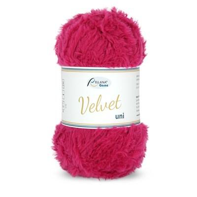 Rellana Garne Velvet uni 034 Pink