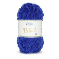 Rellana Garne Velvet uni 022 kobalt blauw