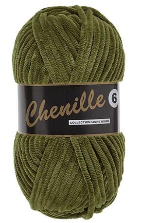 Lammy Yarns Chenille 6 - 026 mos groen