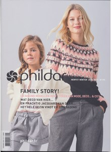 Phildar nr 195 Herfst Winter 2020 - 2021 Family Story