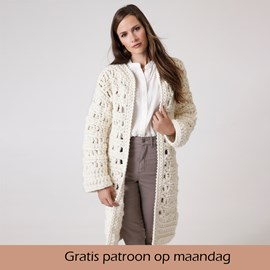Gratis patroon - Haakpatroon vest