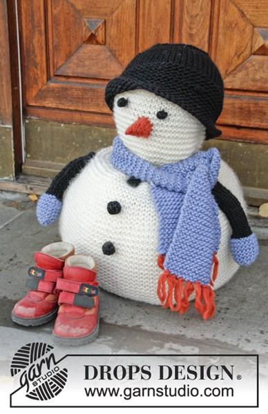 Breipatroon Sneeuwpop