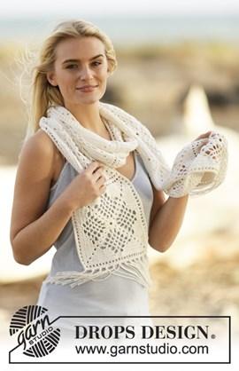 Gehaakte sjaal met franjes