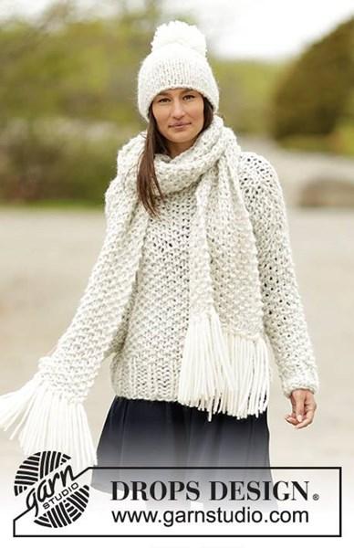 Breipatroon Trui, sjaal en muts