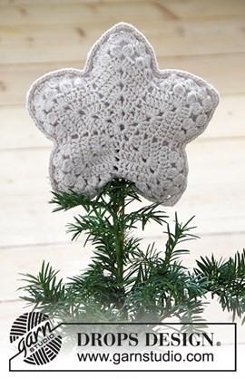haakpatroon piek voor in de kerstboom ....