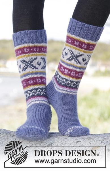 Breipatroon Moon Valley socks