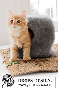 haakpatroon gevilt-huis-voor-kat
