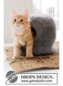 Gevilt huis voor kat