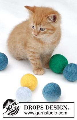 Gevilte ballen kat