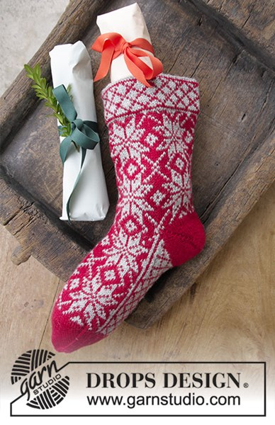 Breipatroon Kerstdecoratie Kerstsok