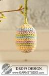 Haakpatroon Eieren en mandje van andere kant
