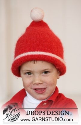 Breipatroon kinder kerstmuts van het ....