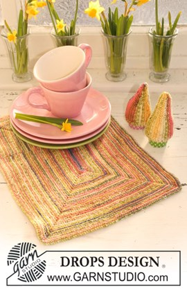 Placemat en eierwarmer