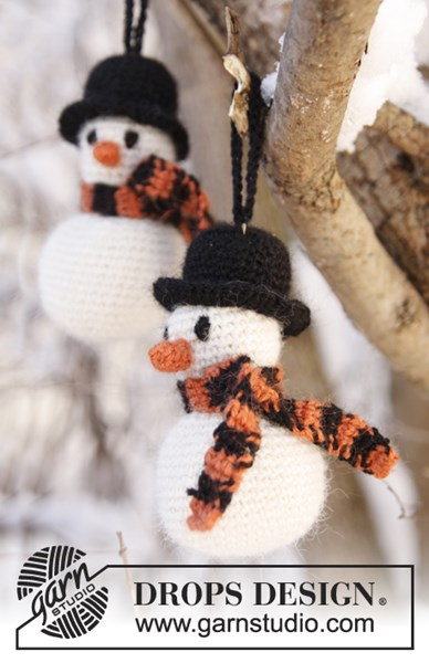 Haakpatroon Gehaakte sneeuwpop