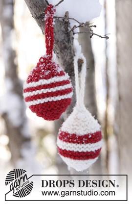 Gebreide Kerst ballen