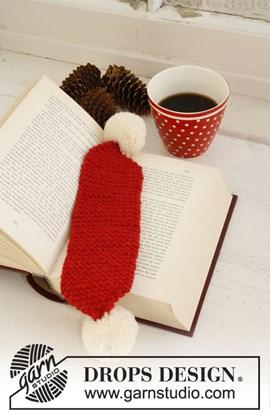 Gebreide kerstboekenlegger in ....