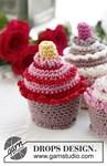 Haakpatroon Cupcakes van andere kant