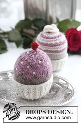 Gebreide cupcakes van Baby Merino en van BabyAlpaca Silk