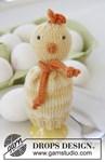 Breipatroon Gebreide eierwarmers voor Pasen van Baby Merino. van andere kant