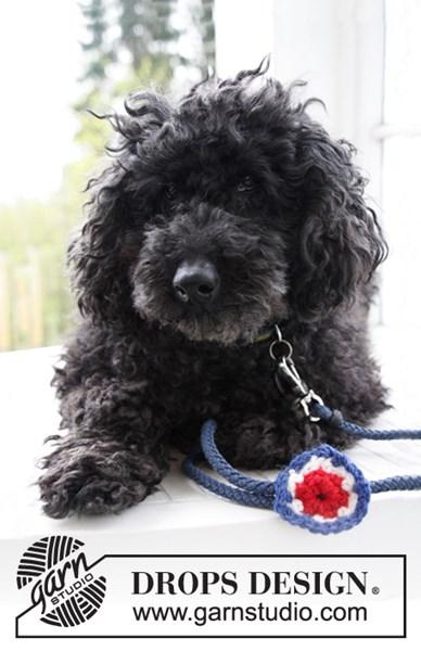 Haakpatroon Drops Decoratieve Bloem Voor Feestdagen Voor Je Hond Van