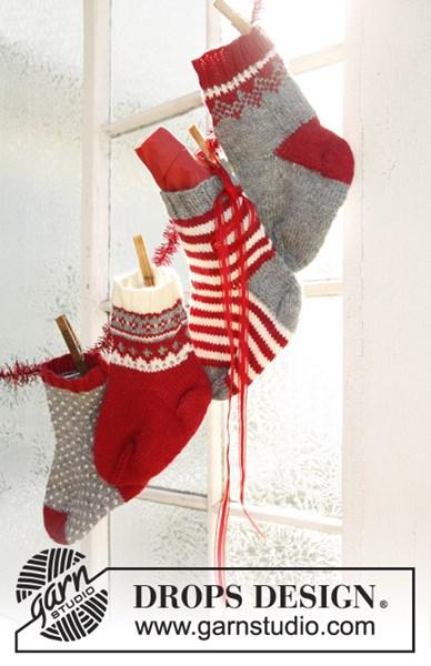Breipatroon Gebreide Kerst decoratie