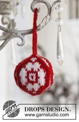 Gebreide Kerst bal