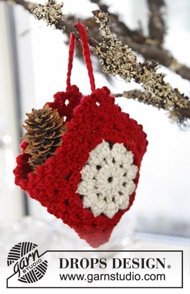Haakpatroon Gehaakte tasje voor Kerst