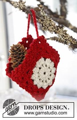 Gehaakte tasje voor Kerst