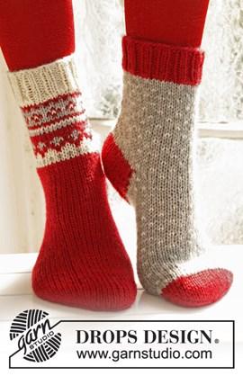 Gebreide Kerst sokken