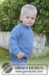 Breipatroon Kindertrui met raglan van andere kant