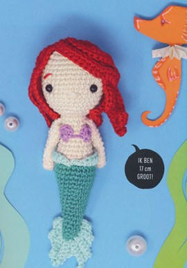 Pop zeemeermin Ariel