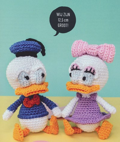 Poppen Donald en Katrien Duck