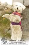 Brei- en haakpatroon Hondendekje van andere kant