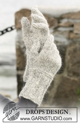 DROPS Handschoenen van Alpaca en ....