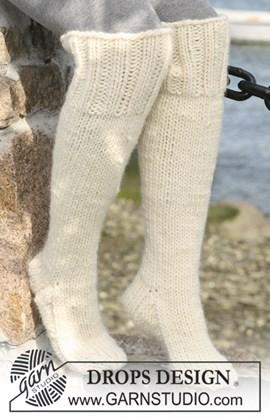 Lange DROPS sokken van Eskimo. ....