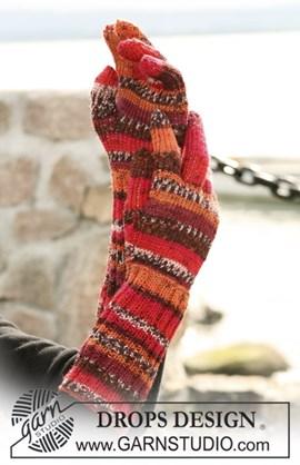 DROPS Handschoenen van Fabel.