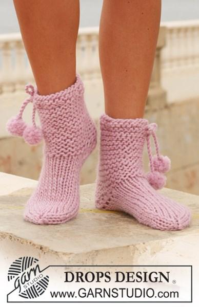 Breipatroon DROPS sokken