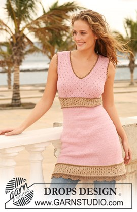Getailleerde DROPS jurk