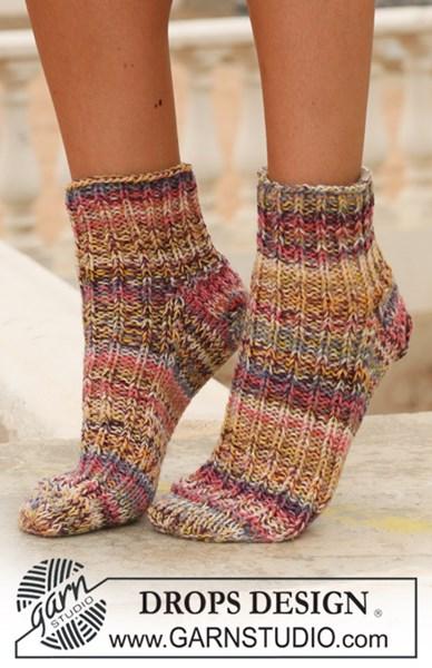Breipatroon Korte sokken